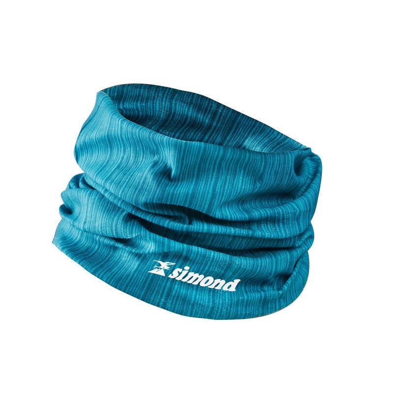 LEZECKÉ OBLEČENÍ Lezení - LEZECKÝ ŠÁTEK MODRO-ŠEDÝ  SIMOND - Lezecké oblečení