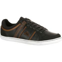 Herensneakers Ottawa zwart/bruin - 180660