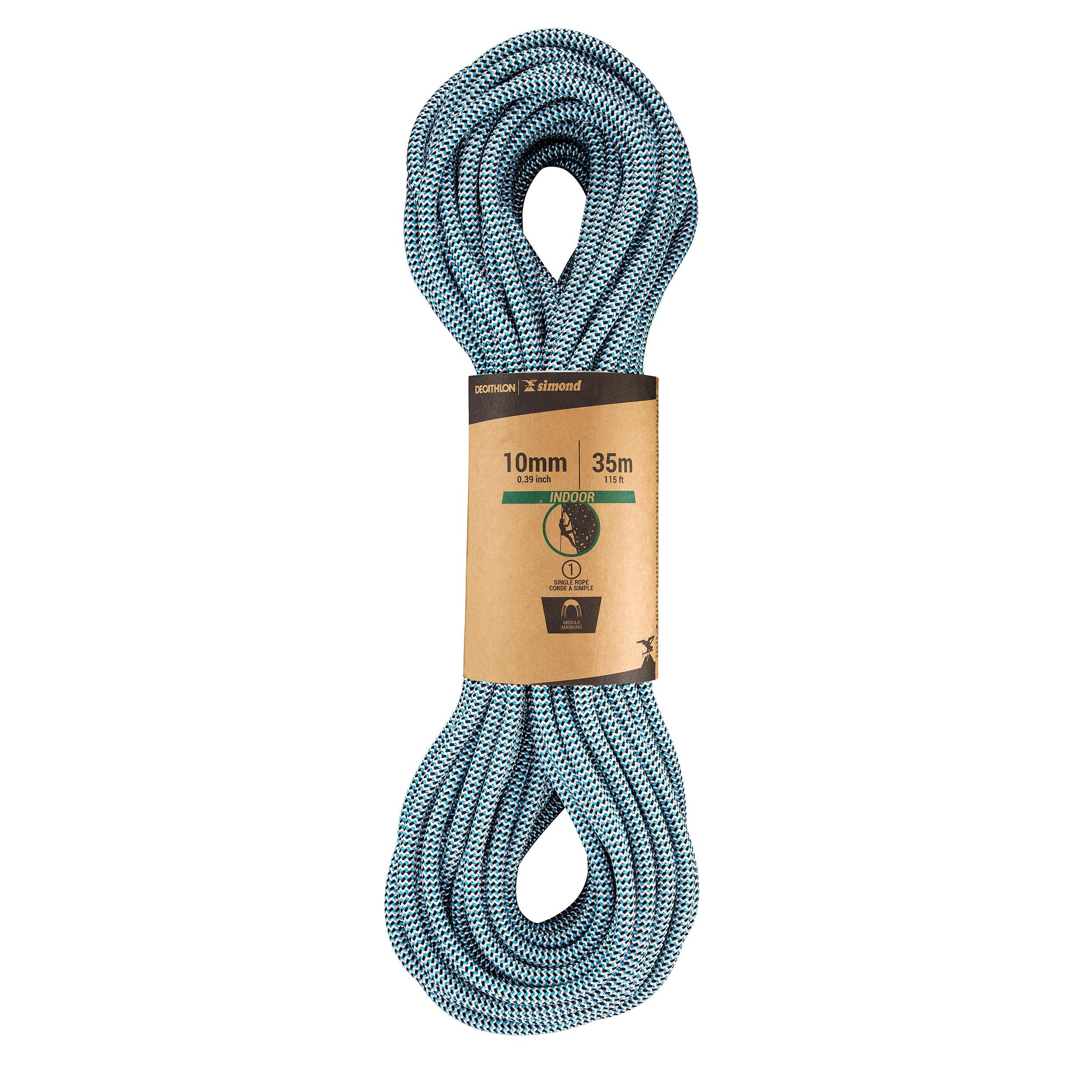 cuerda de polyestere multiusos cuerda nautica trenzada. cuerda de amarre Cuerda rollo de cuerda 30m x 5mm azul//blanco