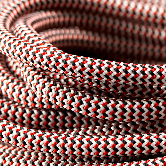 CORDE D'ESCALADE INDOOR 10MM x 35 M - COULEUR ROUGE