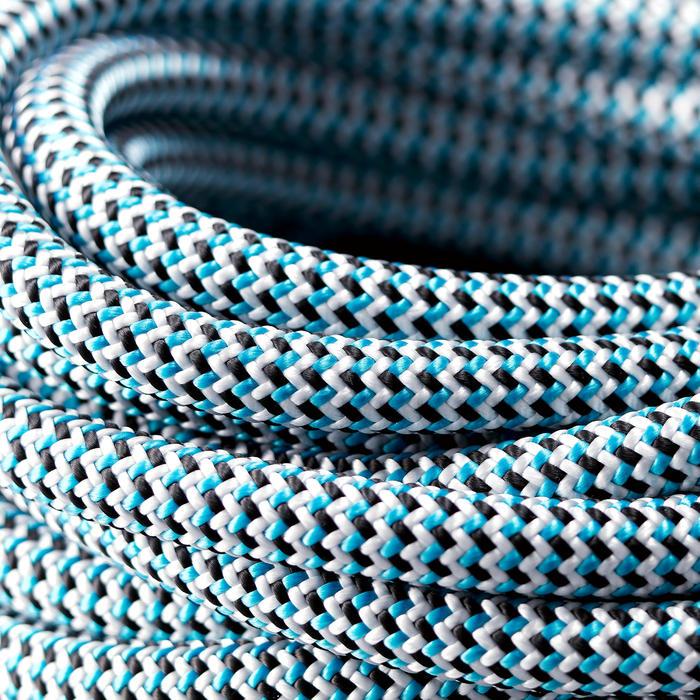 Klimtouw per meter voor klimzaal 10 mm Indoor blauw