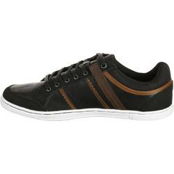 Herensneakers Ottawa zwart/bruin - 180662