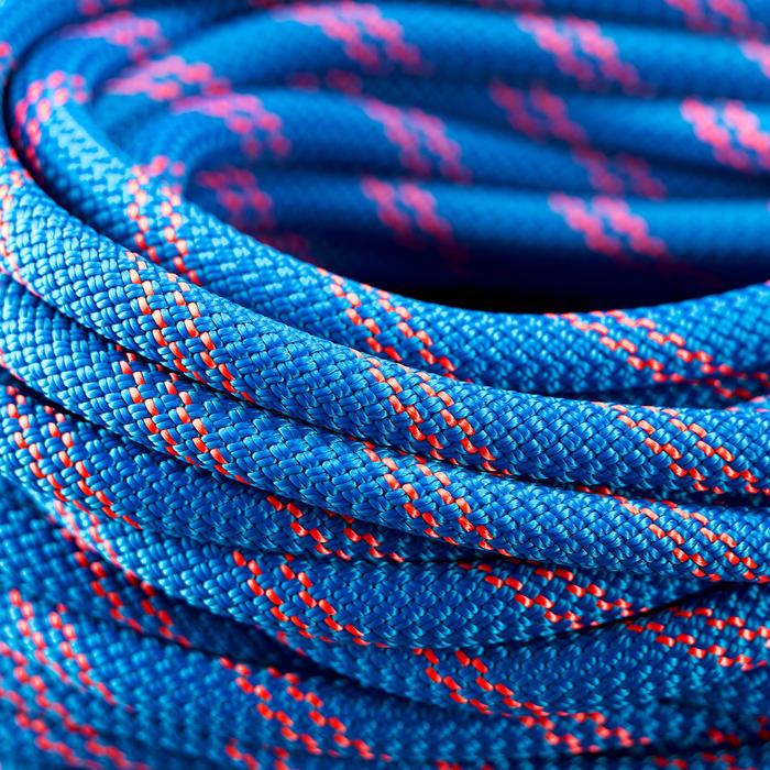 Corde à double d'escalade et d'alpinisme 8.6 mm x 60 m - Rappel 8.6 Bleu