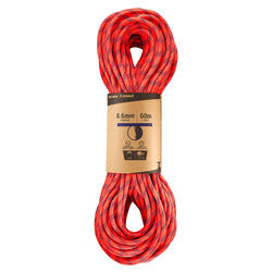 Corde à double d'escalade et d'alpinisme 8.6 mm x 60 m - Rappel 8.6 Orange