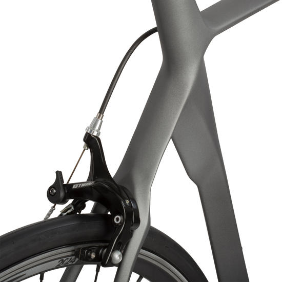 VELO ROUTE MACH 720 CF (Carbon Frame) Noir/Jaune