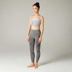 Gentle Yoga Sports Bra - Mauve
