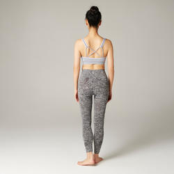 舒緩瑜珈運動內衣 - 紫紅色