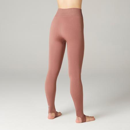 Women's Wide Hole Dynamic Yoga Leggings - Purple