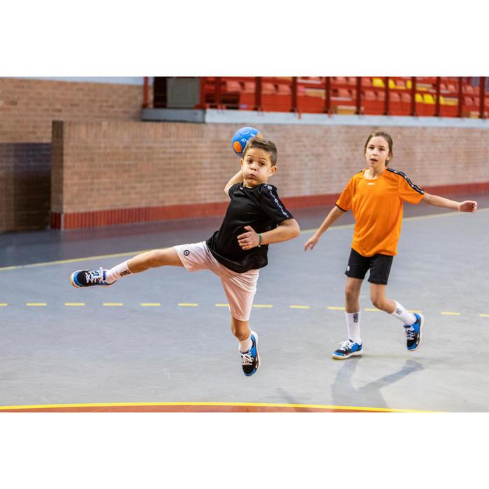 Short de handball enfant H100C blanc