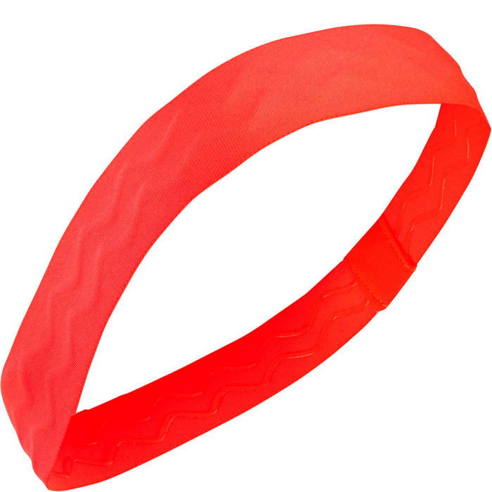 Girls' Gym Headband S900 Twin-Pack - Neon Pink and Black