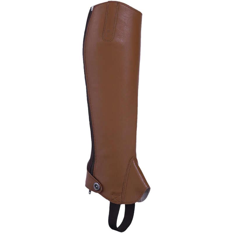 ADULT JODPHUR/PADDOCK BOOTS AND HC - Paddock 700 Adult Half Chaps FOUGANZA