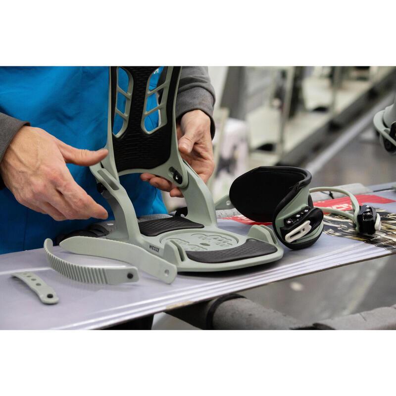 Réparation des fixations snowboard