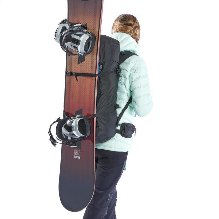 Sac à dos d'alpinisme 40 + 10 litres - ALPINISM 40+10 NOIR