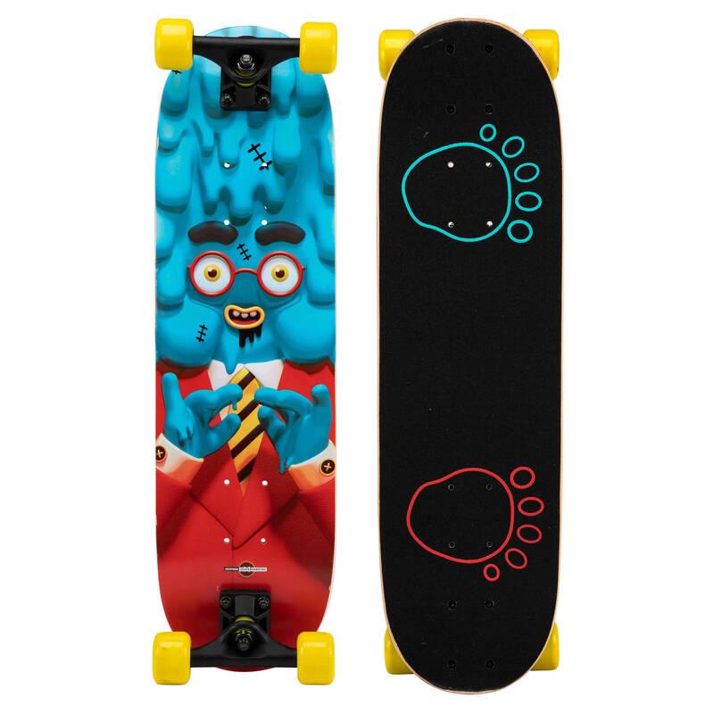 SKATEBOARD ZAČÁTKY Skateboardy, longboardy, waveboardy - SKATEBOARD PLAY120 MEDUSA OXELO - Vybavení na skateboard