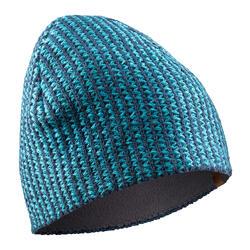 Mütze warm Klettern graublau