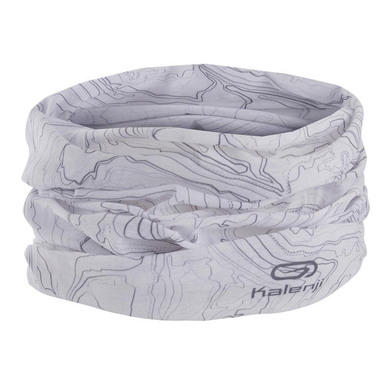 MULTI-PURPOSE GRAPHIC TRAIL HEADBAND - WHITE