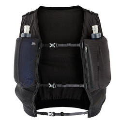 UNISEX TRAIL RUNNING HYDRATION GILET 5 L FLASK HOLDER - BLACK