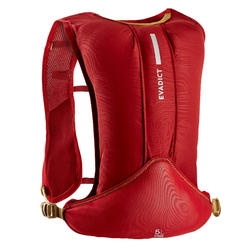 SAC HYDRATATION TRAIL RUNNING 5L ROSE BORDEAUX
