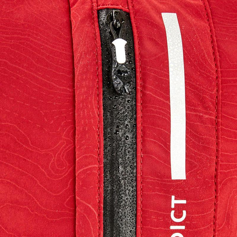 เป้วิ่งเทรลสำหรับทั้งชายและหญิงขนาด 10 ลิตร (สีแดง BURGUNDY/ชมพู)