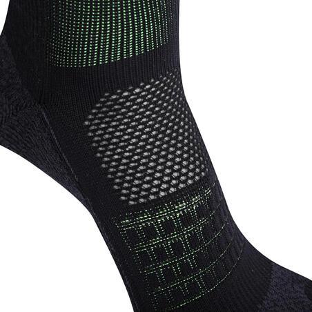 Running 5-Finger Socks Black/Yellow