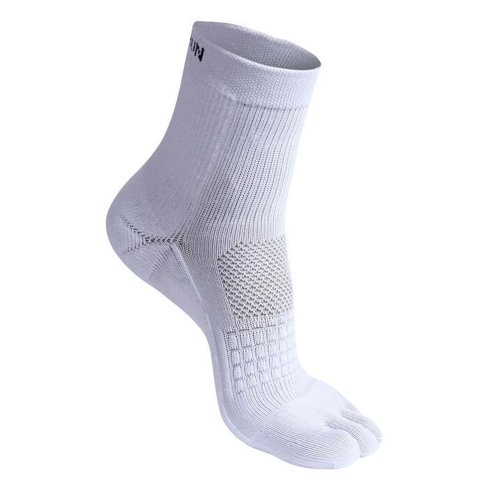 5-TOE RUNNING SOCK - WHITE