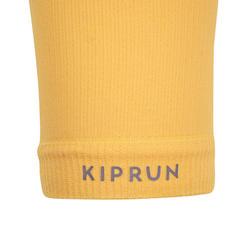 KIPRUN COLD PROTECTION RUNNING SLEEVES - ORANGE