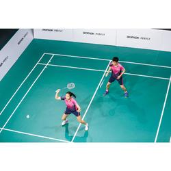 Short de badminton Homme 560 - Marine/Rose 20