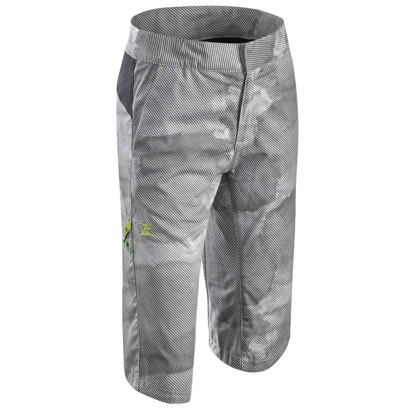 CLIMBING JR CLOTHING Climbing - BOY'S STRETCH BERMUDA GREY SIMOND - Climbing