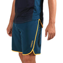 Beachvolleybalshort heren BVSH500 groen/geel