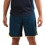 Copaya Beachvolleybalshort heren BVSH500 groen/geel