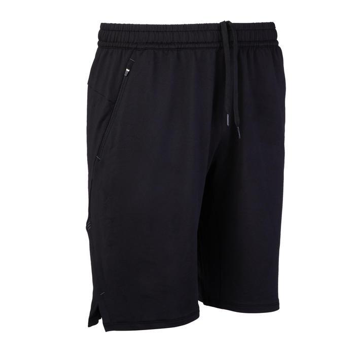 戶外有氧健身短褲520-黑色