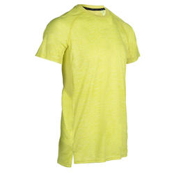 Cardio Fitness T-Shirt FTS 120 - Yellow