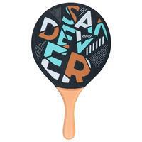 """Pludmales tenisa rakešu komplekts """"Woody Sand"""", zelta"""