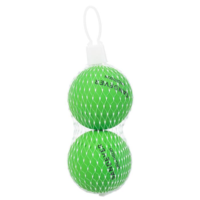 Balle de Beach Tennis BTB 100 X2 GREEN