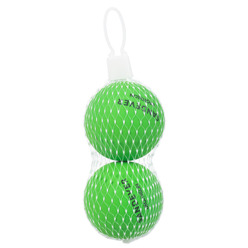Balle de Beach Tennis BTB 100 X2 GREEN
