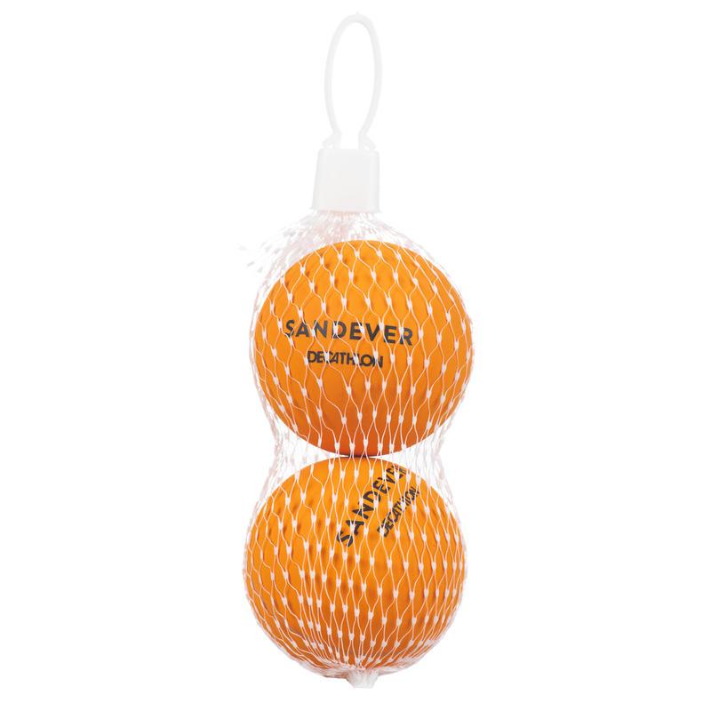 Bola Tenis Pantai BTB 100 Paket Ganda - Jingga