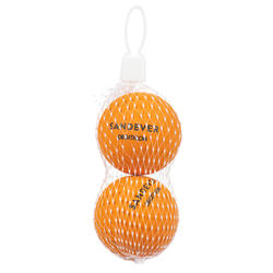 Balle de Beach Tennis BTB 100 X2 ORANGE