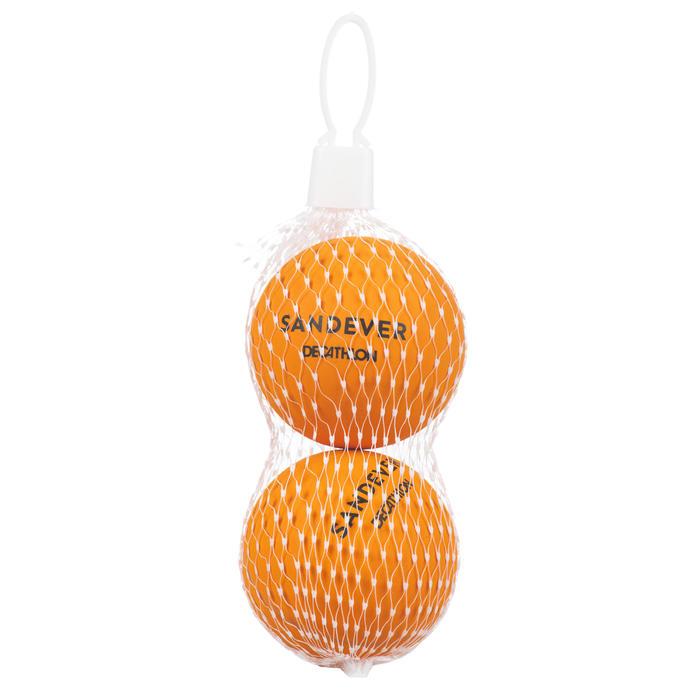 Balle de Beach Tennis BTB 100 X2 ORANGE