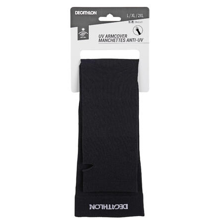 UV ARM and HAND COVER RUNNING BLACK