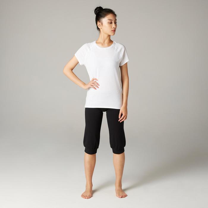 Women's Gentle Yoga Organic Cotton T-Shirt - White