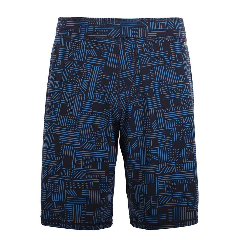 Men Swim shorts Loose fit - Printed blue