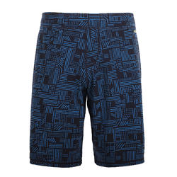 MEN'S SWIMMING LONG SWIM SHORTS 100 - NAM BLACK