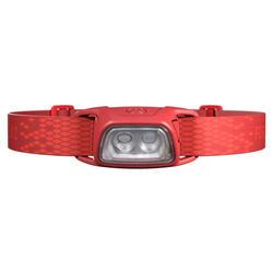 USB可充式健行頭燈TREK 100-120流明-紅色