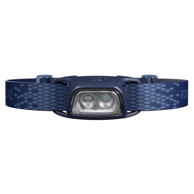 Trekking Rechargeable Head Torch Trek 100 USB - 120 lumens - blue