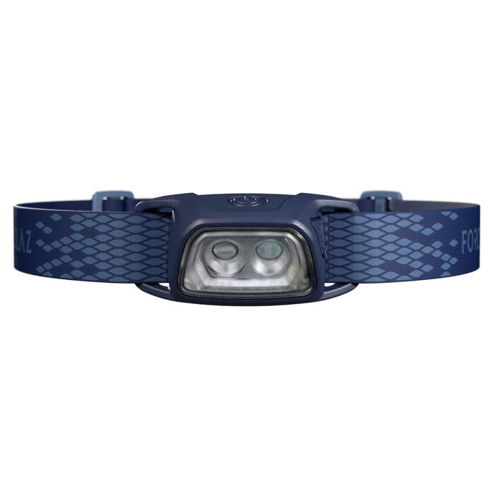 Trekking Rechargeable Head Torch Trek 100 USB - 120 lumens - blue