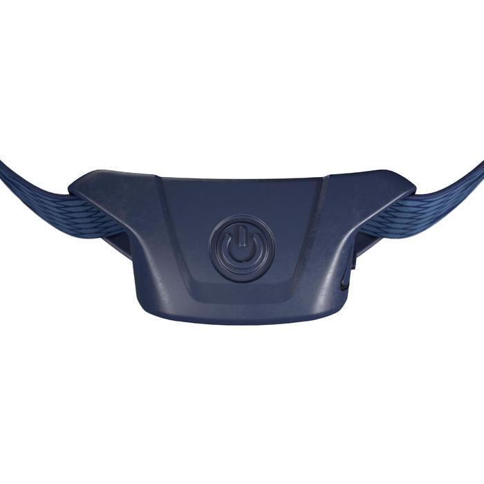 USB可充式健行頭燈TREK 100-120流明-藍色