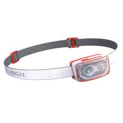 Lanterna frontal acampamento recarregável - 500 USB -100 lúmenes branco