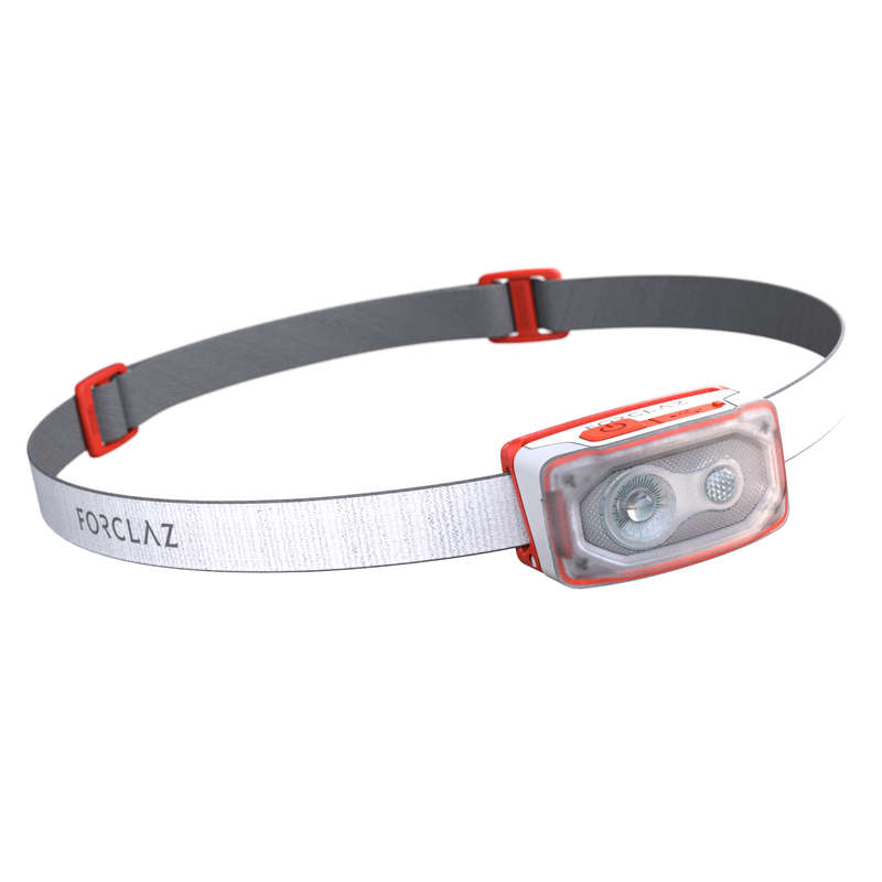 HEADLAMPS HIKING/TREK Camping - Head Torch Bivouac 500 USB-wh FORCLAZ - Camping Accessories