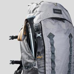 Wandelstok voor trekking uiterst compact MT500 zwart