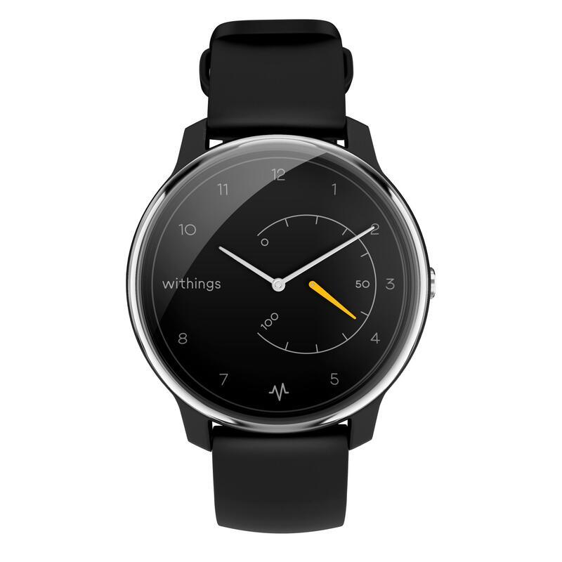 Reloj Inteligente Smartwatch Withings Move Electrocardiograma Negro